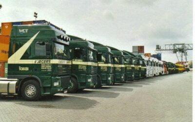 Chauffeur CE – haakarm – vrachtwagen aanhangwagen //overnachtingen
